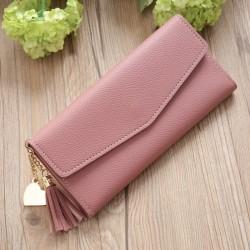 Elegantná peňaženka - lososová