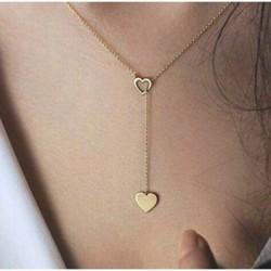 Elegantný náhrdelník so srdcom