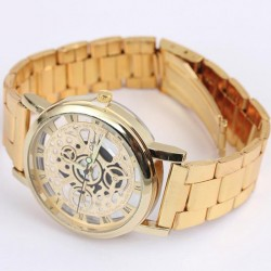 Dámske pozlátené hodinky