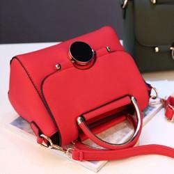 Elegantná kabelka -červená