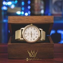 Dámska zlatá hodinka